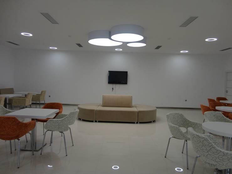 Vizyon Mimarlık ve Dekorasyon – FABRİKA / KIRKLARELİ:  tarz Ofis Alanları, Modern