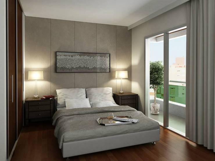 Interiores: Dormitorios de estilo  por Constructora Argentina S.R.L.