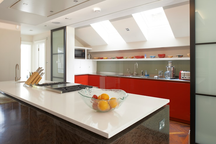 St Peter's Road, London:  Kitchen by Nigel Bird Architects
