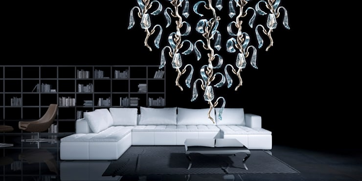 Lighting: eclectic Living room by CasaNora