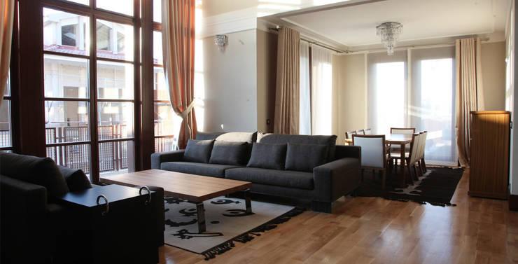 Living room by Nurettin Üçok İnşaat