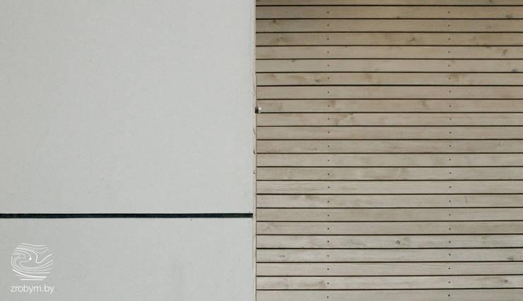 ENERGOHOUSE: Стены и пол в . Автор – ZROBYM architects