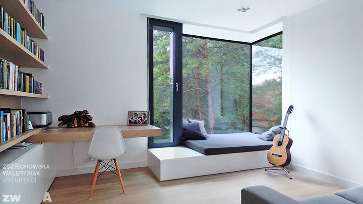 M - house: styl , w kategorii Sypialnia zaprojektowany przez zwA Architekci