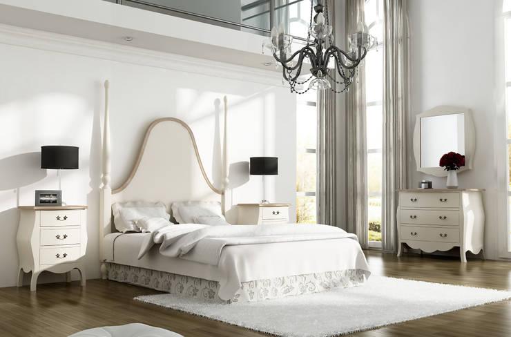 Dormitorio Saboya: Dormitorios de estilo  de Keen Replicas