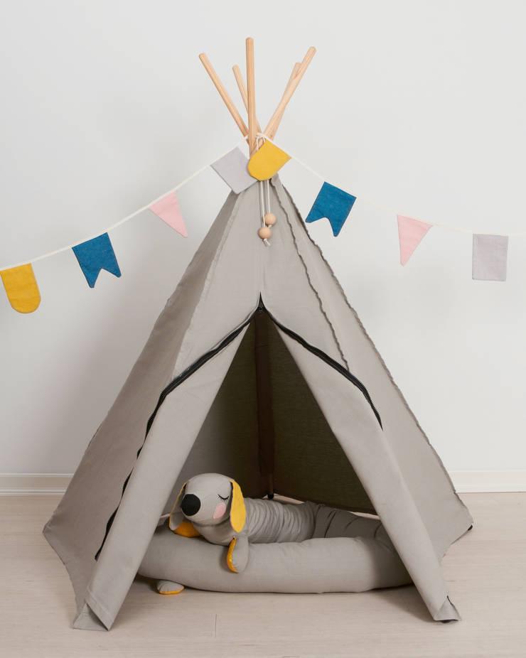 Stoere jongenskamer van Roommate:  Kinderkamer door Felientje
