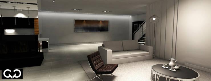 Apartament : styl , w kategorii  zaprojektowany przez Studio QQ