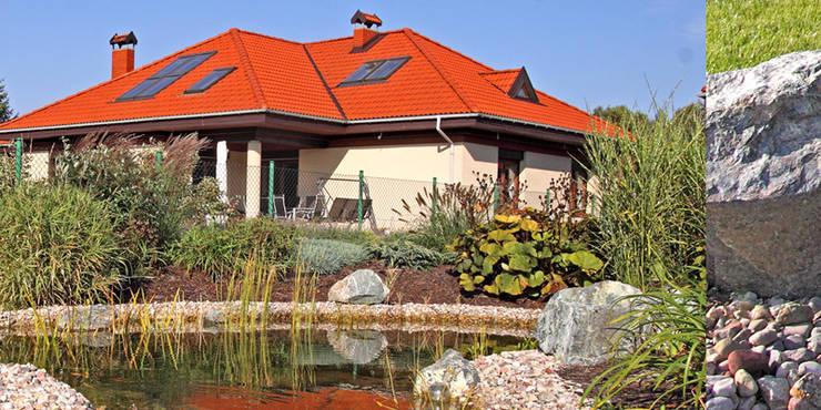 oczko : styl , w kategorii  zaprojektowany przez Autorska Pracownia Architektury Krajobrazu Jardin