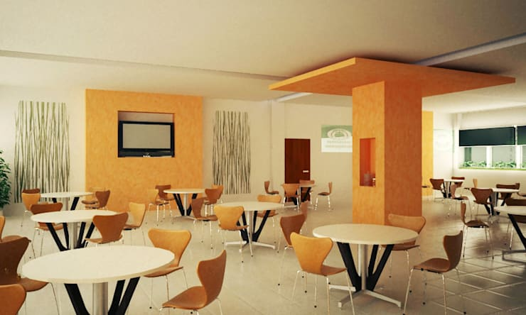 Comedor Grupo Gondi (Render ):  de estilo  por Visual Concept