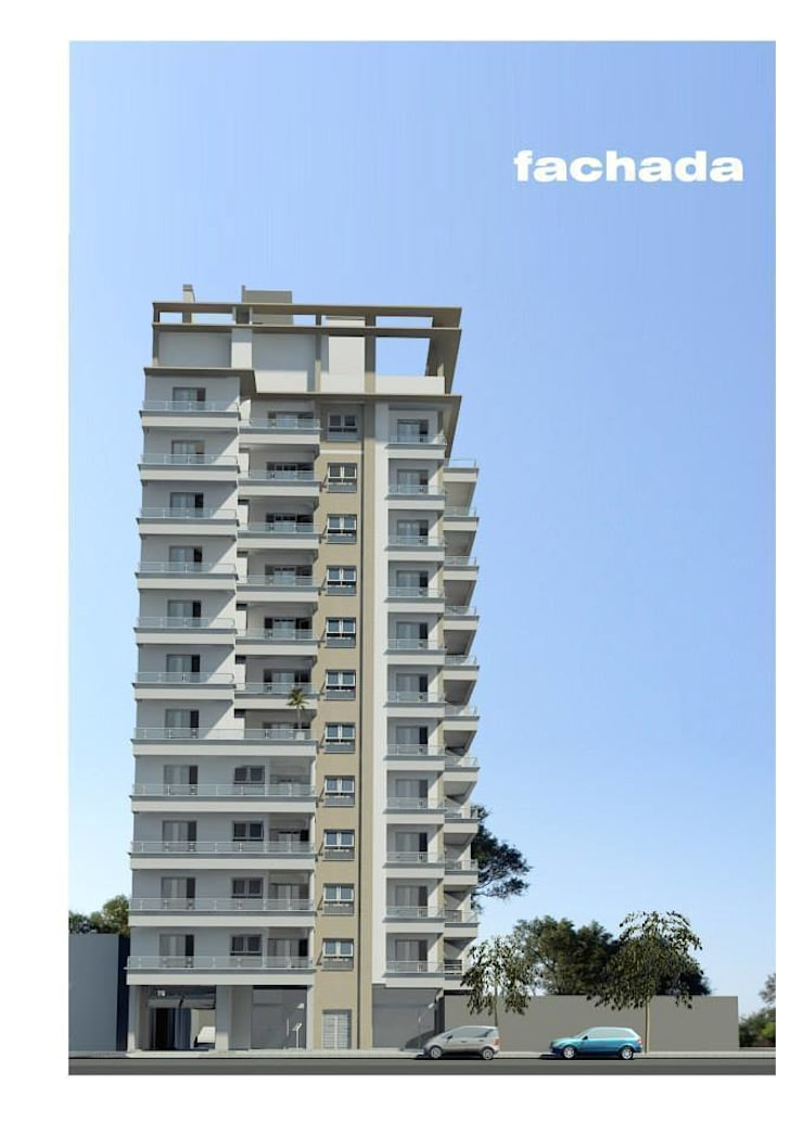 Edificio JBJ2011: Casas de estilo  por ARQUITECTO MANCUELLO,Minimalista