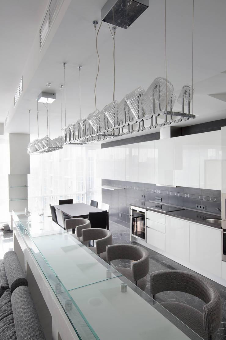 Кутузовская ривьера: Столовые комнаты в . Автор – DECORA
