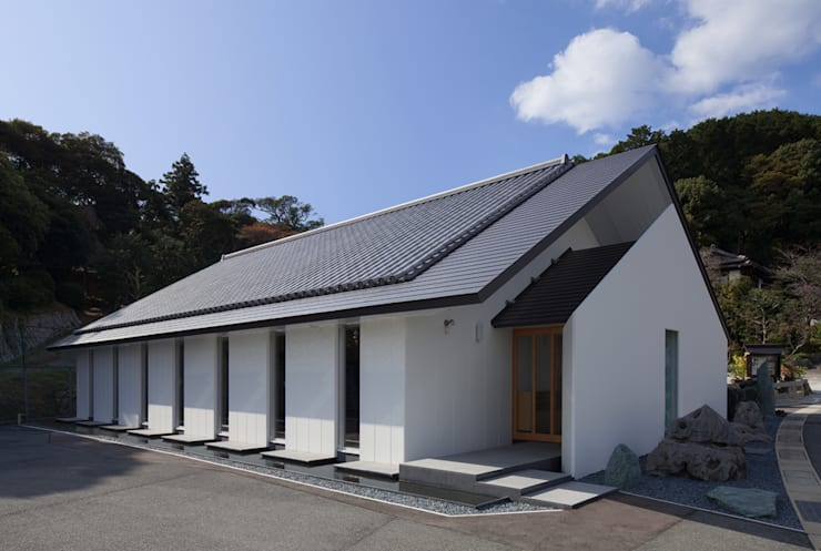 Casas de estilo  por 株式会社 斎藤政雄建築事務所, Moderno