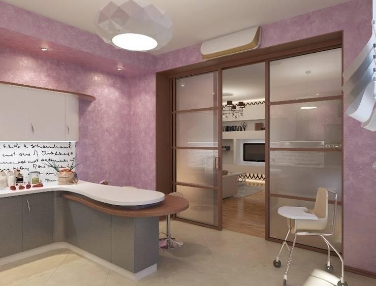 Дизайн интерьера кухни квартиры в м-он Чистый.: Кухни в . Автор – Студия Поминовой Анны