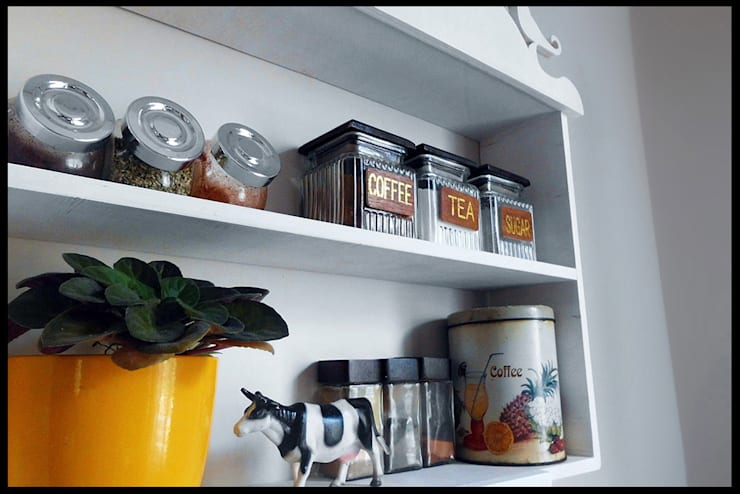 Pons Home Design – Vintage Mutfak Rafı:  tarz Mutfak