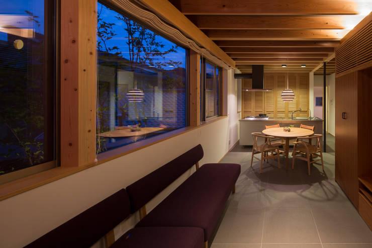Projekty,  Salon zaprojektowane przez TRANSTYLE architects
