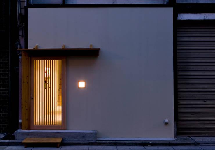 筥崎こ村 外観: 株式会社 斎藤政雄建築事務所が手掛けた家です。