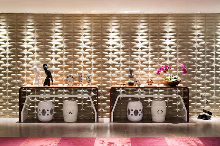 Living: Salas de estar modernas por Arina Araujo Arquitetura e Interiores