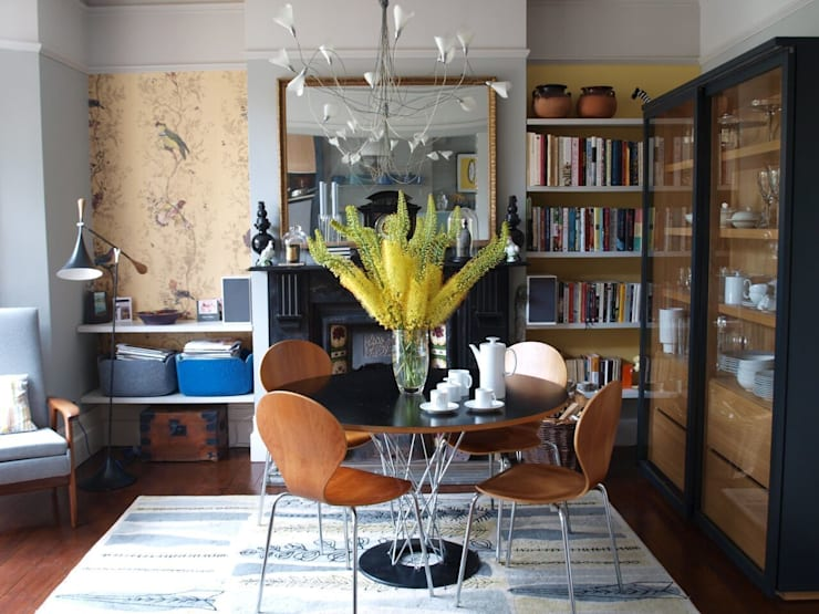 Blackheath London Townhouse:  Dining room by Egon Design