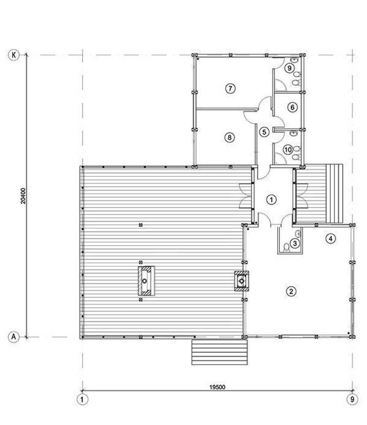 Скандинавия 150:  в . Автор – NEWOOD - Современные деревянные дома