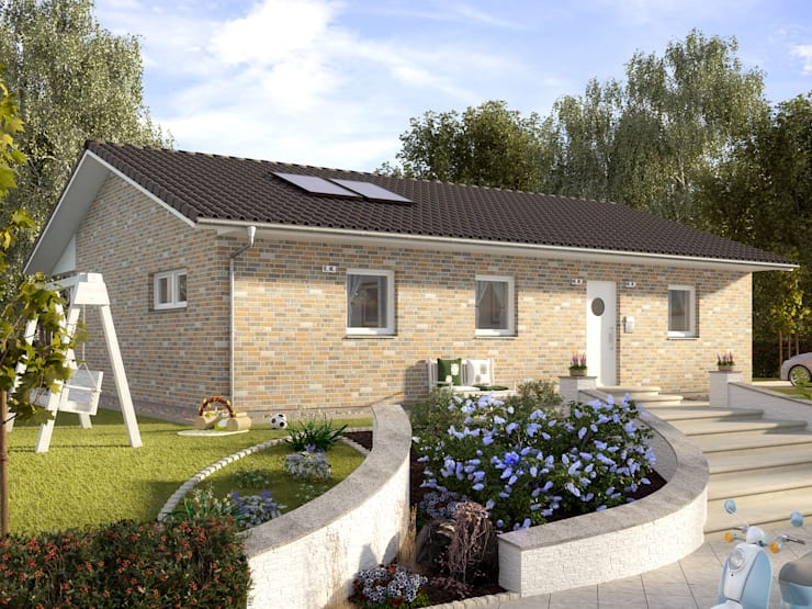Casas de estilo  por ProHaus GmbH & CO. KG