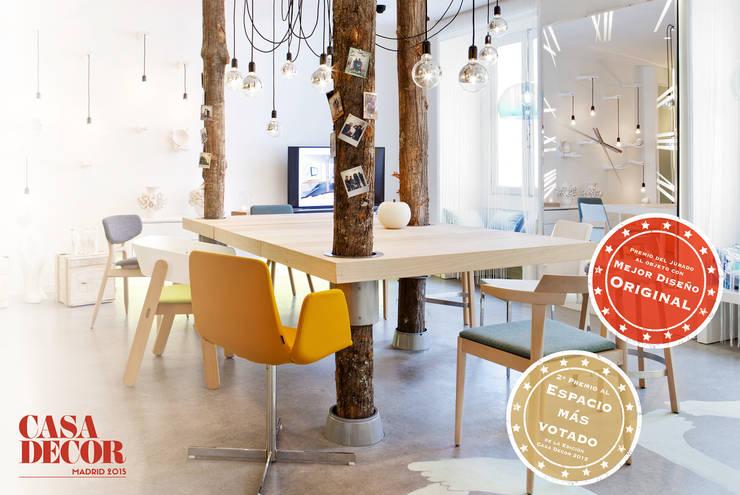 Estrellas Casa Decor 2015: Estudios y despachos de estilo  de GMProyecto