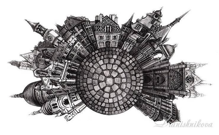 Мостовая: Произведения искусства в . Автор – Dariya Dranishnikova