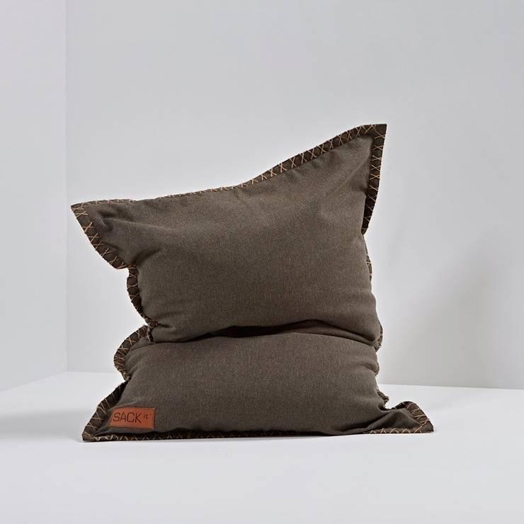 Bean-bag SQUAREit Junior: styl , w kategorii Pokój dziecięcy zaprojektowany przez Pufa Design