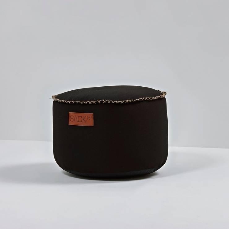 Puf RETROit Canvas : styl , w kategorii Salon zaprojektowany przez Pufa Design