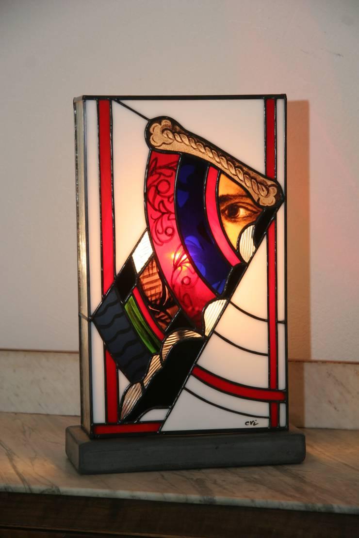 Newold Lampe En Vitrail Tiffany Par Lumiere Et Vitrail Homify