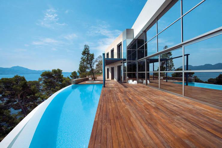 Casas de estilo  por Alibaz Inversiones