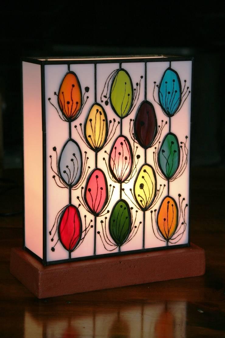 Pollen Lampe En Vitrail Tiffany Par Lumiere Et Vitrail Homify