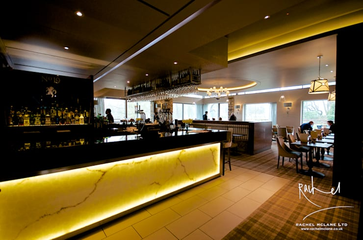 Bar & Club in stile  di Rachel McLane Ltd