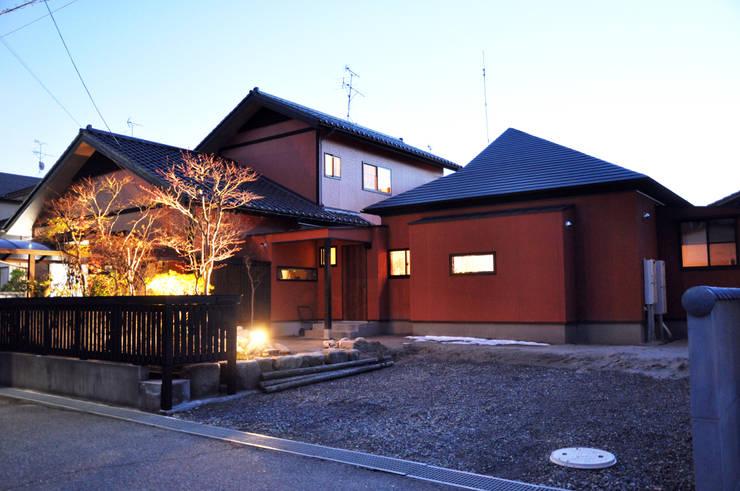 外観: 株式会社一級建築士事務所ジオプラスが手掛けた家です。