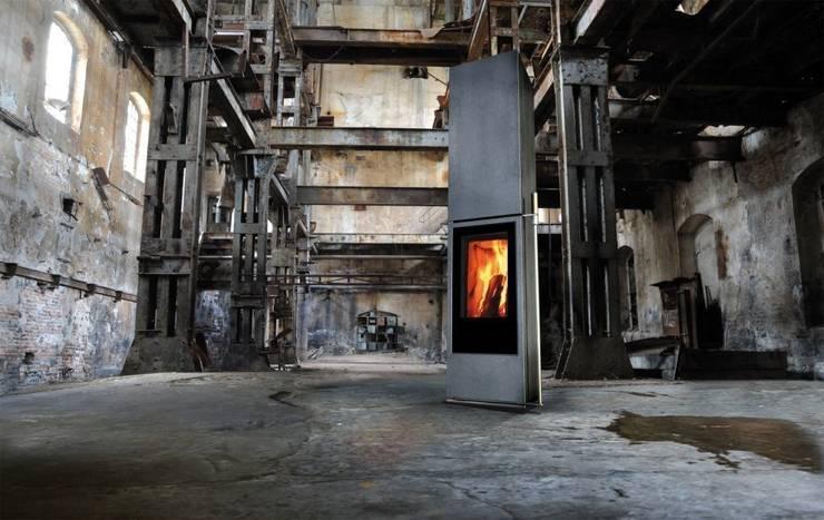 industriële Woonkamer door Chiemsee Öfen