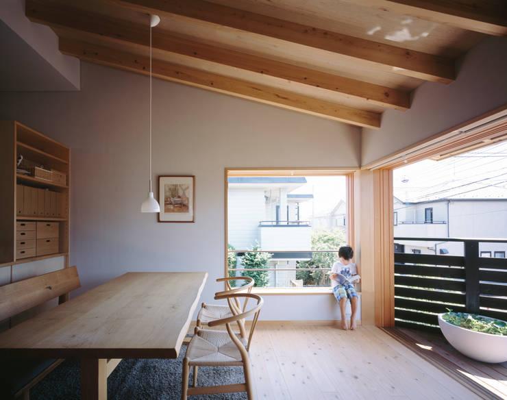 Hidamariハウス: しまだ設計室が手掛けたダイニングです。