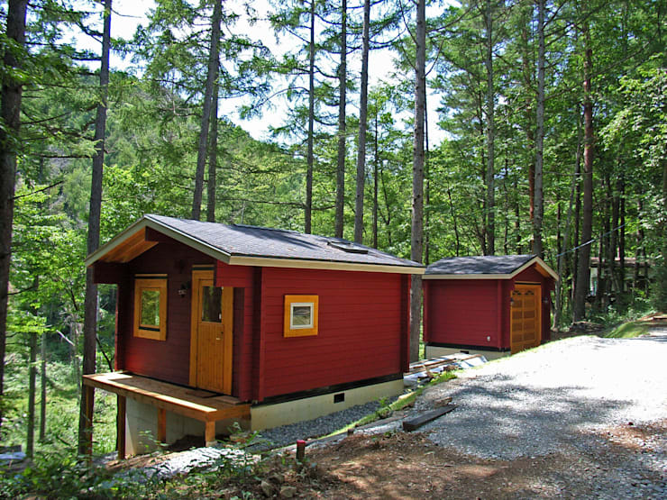 「森の巣箱」全景: Cottage Style / コテージスタイルが手掛けた家です。