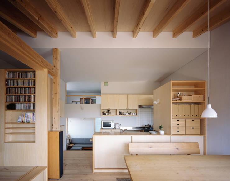 Hidamariハウス: しまだ設計室が手掛けたキッチンです。