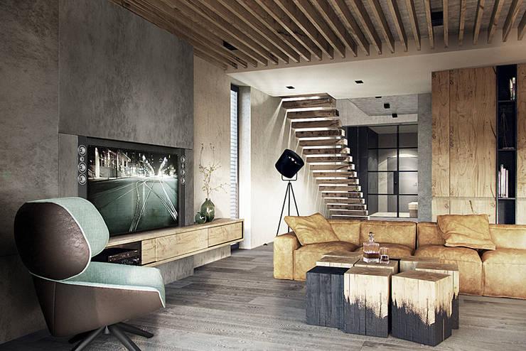 Salon moderne par razoo-architekci Moderne