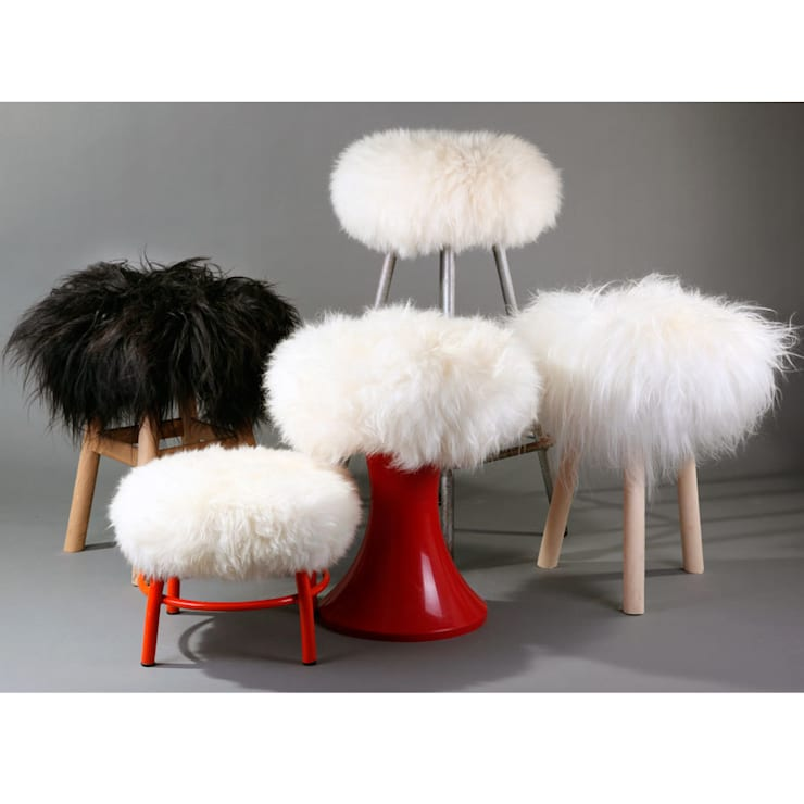 Portrait des Top Moumoutes: Salon de style de style Moderne par FAB design