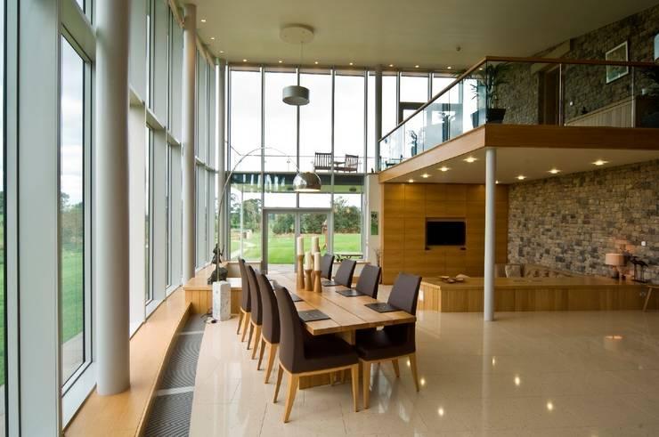 Millbeck:  Dining room by Fidget Design