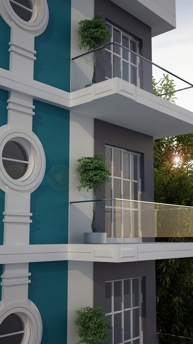 EMG Mimarlik Muhendislik Proje Çanakkale 0 286 222 01 77 – Kale Gacal Konsept Studio Proje:  tarz Teras
