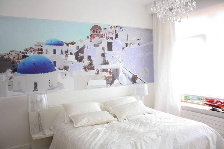 KRÓLOWA SNIEGU: styl , w kategorii Sypialnia zaprojektowany przez Prusakowska Libera,