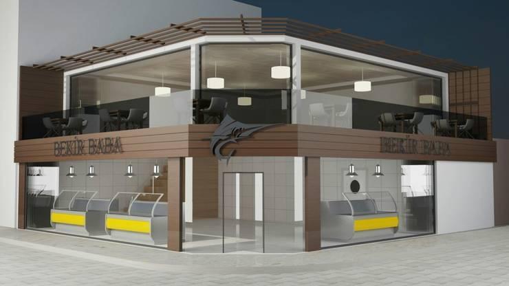 EMG Mimarlik Muhendislik Proje Çanakkale 0 286 222 01 77 – Bekir Baba Balık Restaurant:  tarz