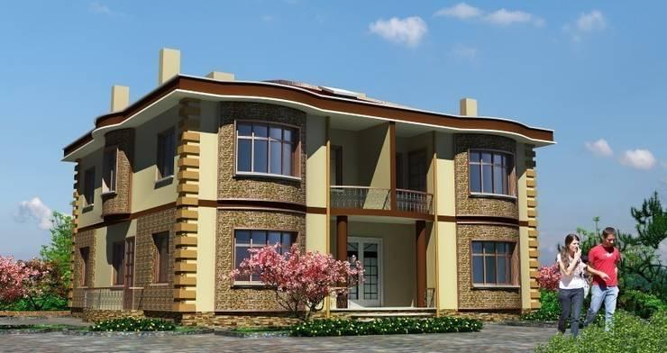 EMG Mimarlik Muhendislik Proje Çanakkale 0 286 222 01 77 – Hanedan Konakları:  tarz Bahçe, İskandinav