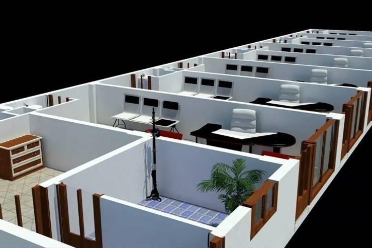 EMG Mimarlik Muhendislik Proje Çanakkale 0 286 222 01 77 – Gülpınar Belediyesi:  tarz Ofis Alanları, Modern