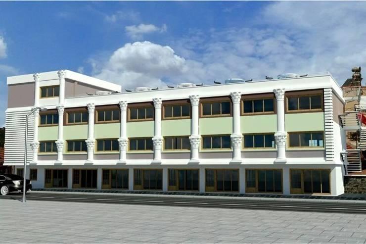 EMG Mimarlik Muhendislik Proje Çanakkale 0 286 222 01 77 – Gülpınar Belediyesi:  tarz Ofis Alanları, Klasik