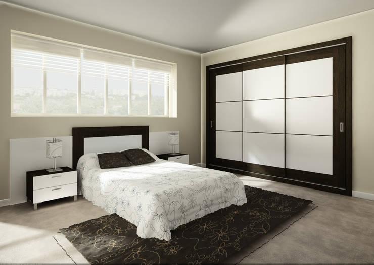 Dormitorio: Dormitorios de estilo moderno de AstiDkora
