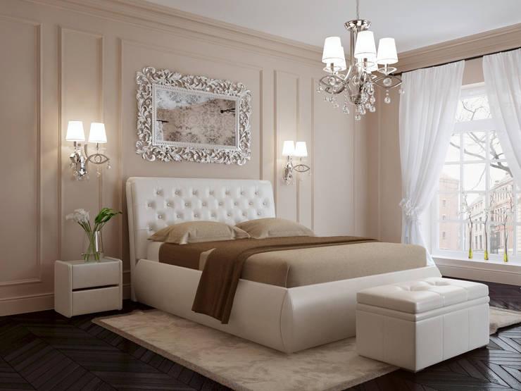 Кровать HILDA: Спальная комната  в . Автор – ABICS
