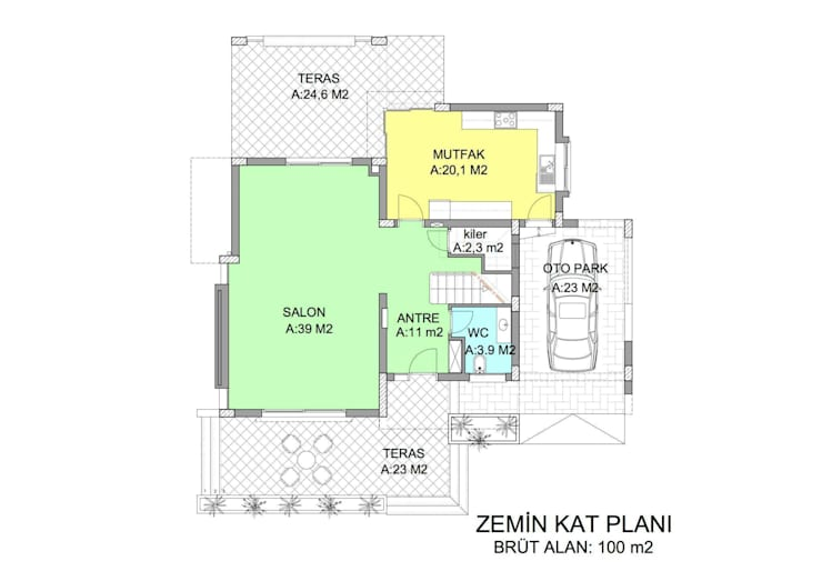 ÖZYALÇIN CONSTRUCTION  – Lemon Park 2:  tarz Evler