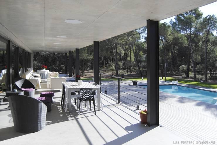 Projekty,  Domy zaprojektowane przez STUDIOLARQ