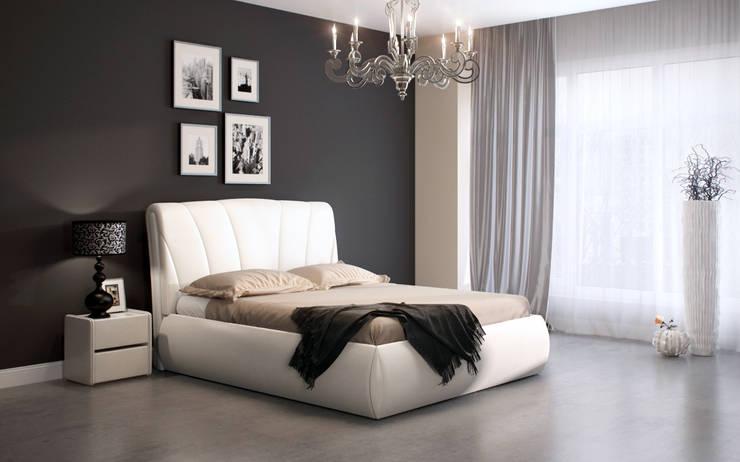 Кровать BIATRICE: Спальная комната  в . Автор – ABICS